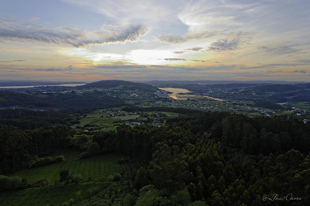 Vista dende o Castelo de Andrade
