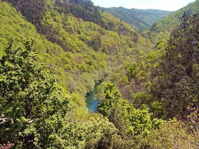 Río Eume dende Caaveiro