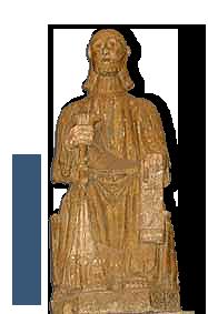 Santiago Apóstolo na igrexa de Pontedeume