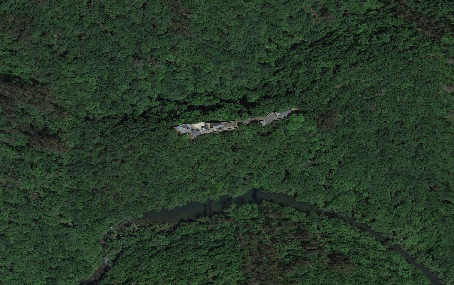 Monasterio de Caaveiro por google